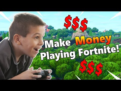 How To Make Money Playing Fortnite!
