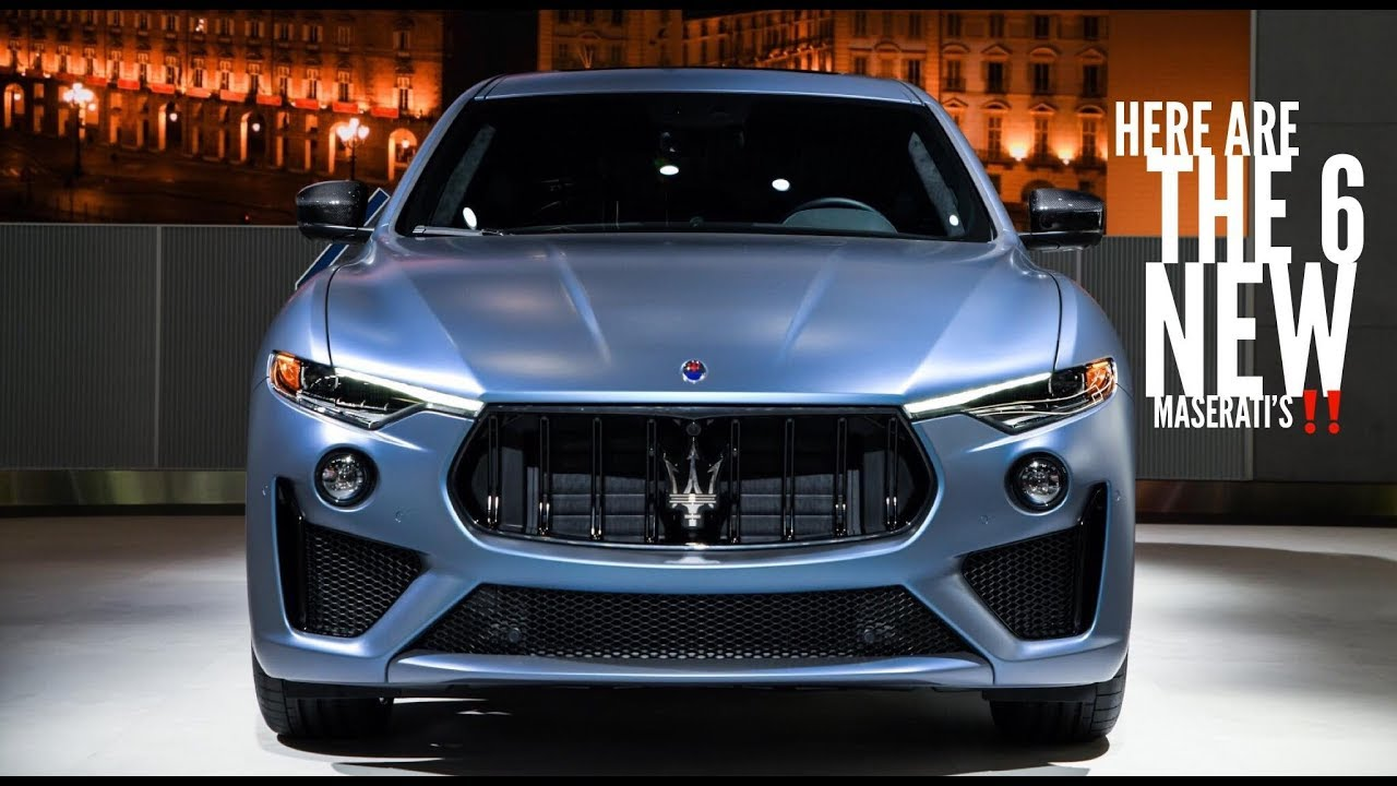 Maserati Is Debuting A New Model EVERY 6 Months Until 2022! - YouTube