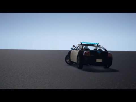 3D car render animation driving drifting, анимация авто машины