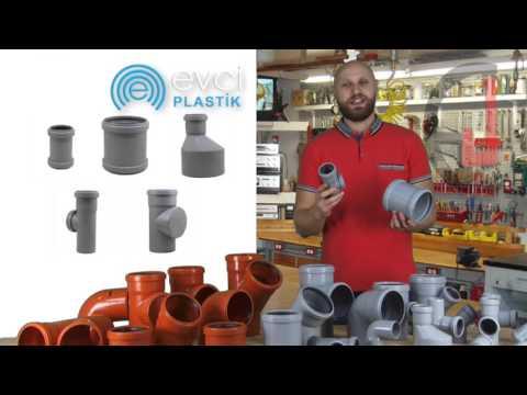 Канализационные трубы Evci Plastik