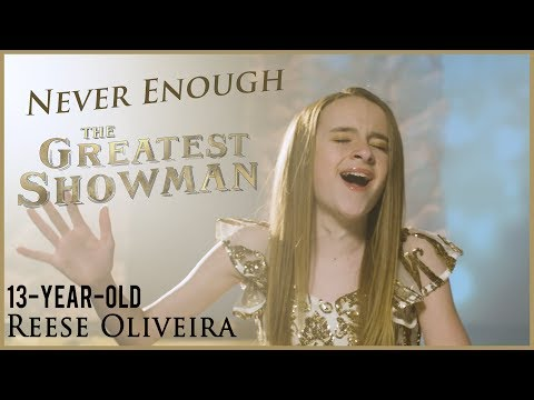 The Greatest Showman - Never Enough [cover...