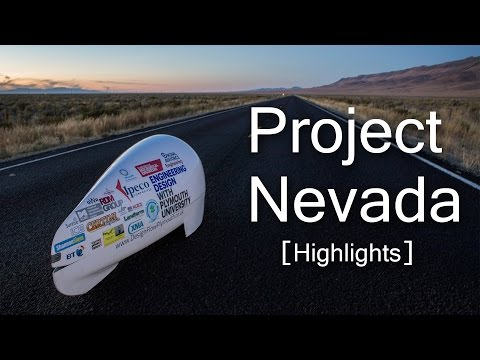 Project Nevada [Highlights] - Plymouth University Handcycle Team