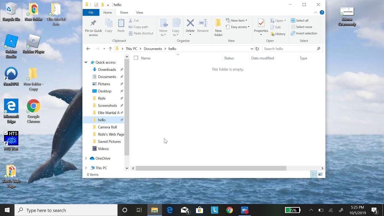 1 Create A Html File