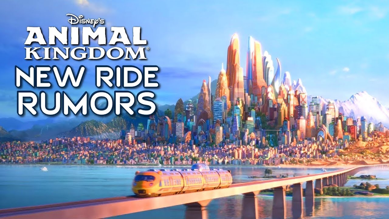 Disney's Animal Kingdom New Ride Rumors (Zootopia, Jungle Book & Indiana Jones)