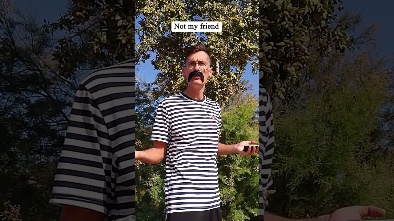 WHEN YOU THINK YOU'RE SEEING YOUR FRIEND | TIKTOK #Shorts