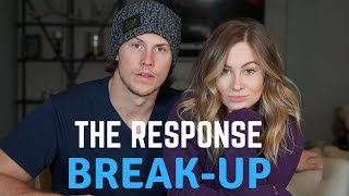 Replying to Break Up Text | Shawn Johnson + Andrew East Story Time