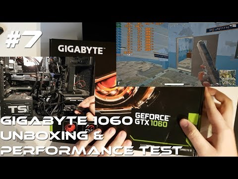 Gigabyte GeForce GTX 1060 3GB - Unboxing,Einbau