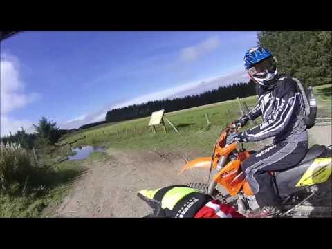 ktm 250 full video crash
