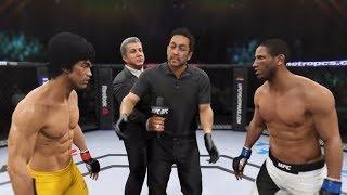 Bruce Lee vs. Hacran Dias (EA Sports UFC 2) - CPU vs. CPU