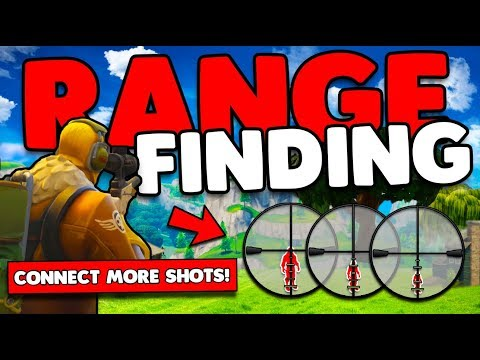Sniper Guide Range Finding | Measure Player Distances & Increase Hitrate | Fortnite Battle Royale