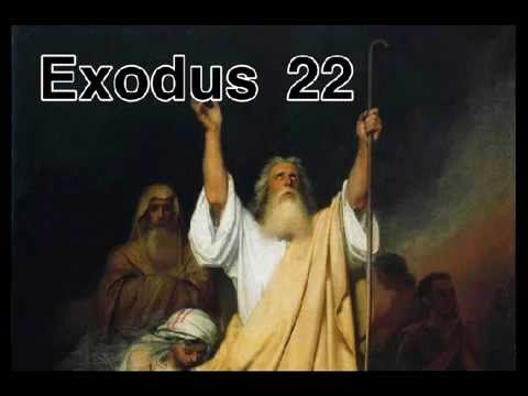 The Holy Bible : EXODUS 22 : Full Chapter Audio with Text ...