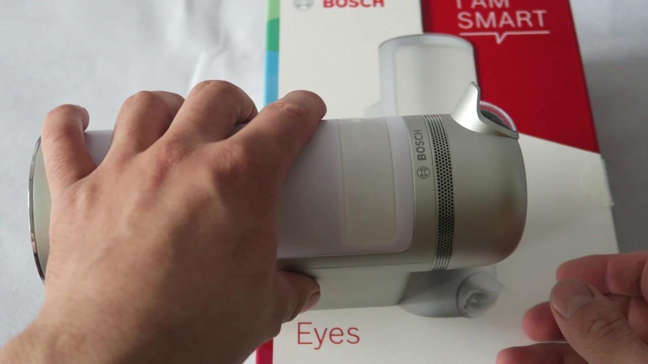 Bosch Smart Home caméra eyes 360 test avis