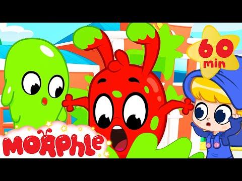 Morphle in Slime - Cartoons for Kids   Mila and Morphle