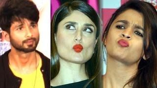 EXCLUSIVE | Shahid Kapoor REFUSES to compare Alia Bhatt with Kareena Kapoor