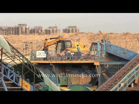 Construction & Demolition waste recycling in India