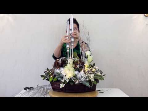 Christmas Flower Arranging with Chrissie Harten 3
