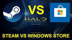 Halo MCC PC - Steam vs Windows Store Edition Comparison