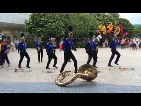 SM MOA Marching Band - Running Man Challenge (My Boo)