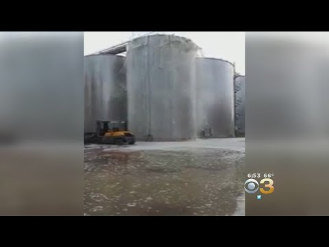 Wine Fermentation Tank Explodes, Spilling 8,000 Gallons Of Prosecco