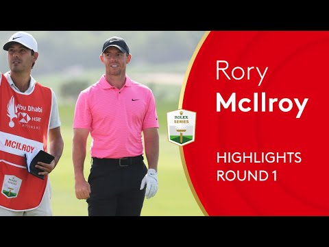 Rory Mcilroy starts his 2021 season with opening round 64! | 2021 Abu Dhabi HSBC Championship