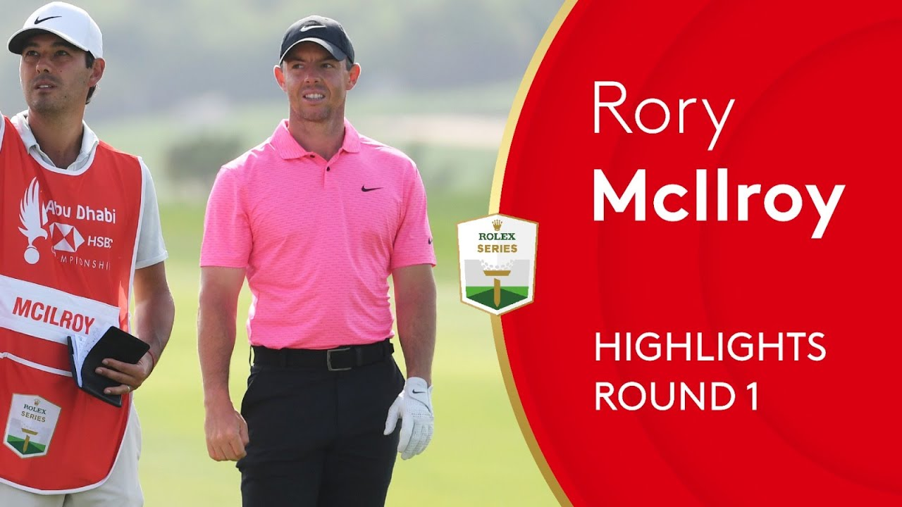 Rory Mcilroy Starts His 2021 Season With Opening Round 64 2021 Abu Dhabi Hsbc Championship Youtube