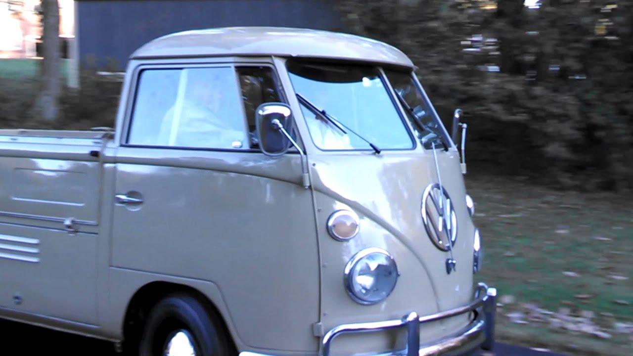 1964 Vw Truck : Vw single cab pickup truck youtube