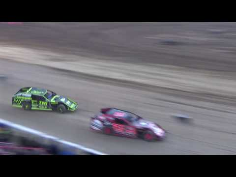 I.M.C.A. Heat Race #1 on 04-27-2018 at I-96 Speedway.