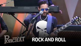 Hudson toca guitarra e prova que tem rock and roll na veia