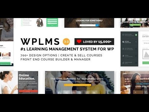 Best WordPress Education Theme for WPLMS Learning Management System - YouTube