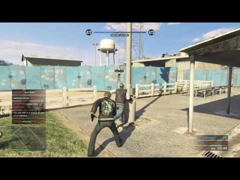 GTA Online Ring Fight Double Chop