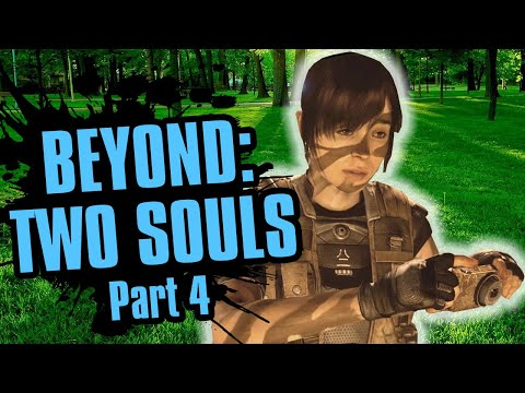 This Game's Going in My Cringe Collection | Beyond: Two Souls Part 4 |