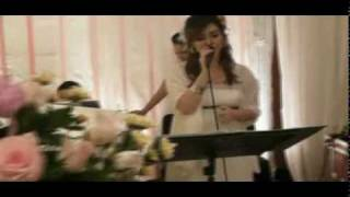 """Singing """"The Nearness of You"""" at Wedding Gig with Bebop Entertainment - Winny Jessica Setiawan"""