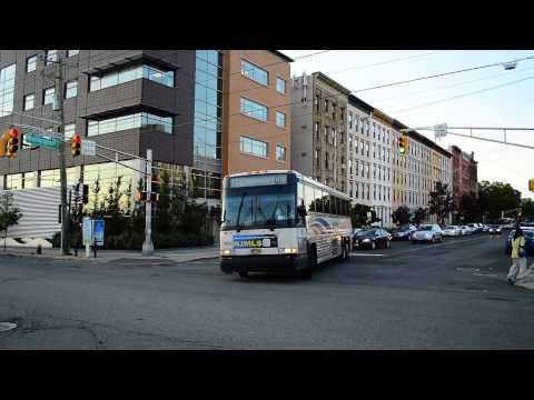 New Jersey Transit 2002 MCI D4000 7492 On The 126 @ Observer Highway & Washington Street