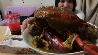 Kainan nah!!!(blackpeper crab)