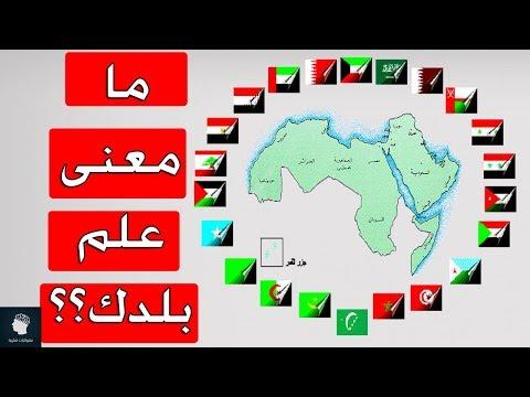 هل تعرف معنى علم بلدك؟؟ | معاني اعلام والوان الدول العربية التي لا تعرفها ..!!