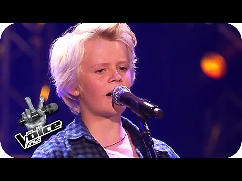 Wincent Weiss - Regenbogen (Felix) | Blind Auditions | The Voice Kids 2016 | SAT.1