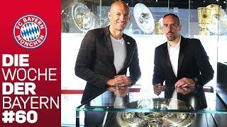 Mia San Double - Robbery bringen Trophäen in die Erlebniswelt | Die Woche der Bayern | Ausgabe 60