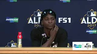 Didi Gregorius Postgame Interview | Yankees vs Indians Game 5 ALDS