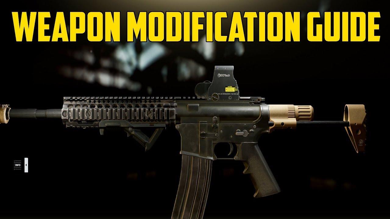 Escape From Tarkov - Weapon Modification Guide