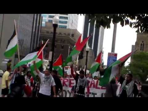 Columbus to Gaza protest 8/17/2014/6