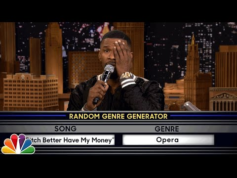Musical Genre Challenge with Jamie Foxx
