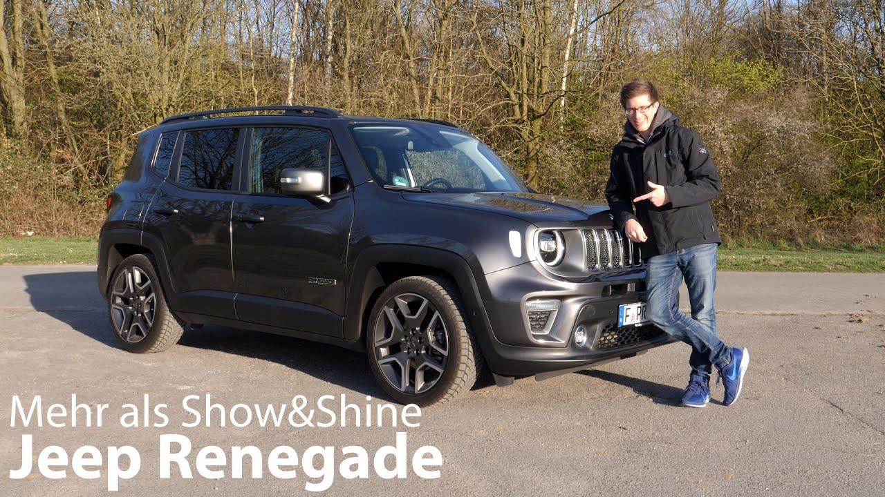 2020 Jeep Renegade 1 3l T Gdi 150 Ps Limited Test Mehr Als Show Shine 4k Autophorie Youtube