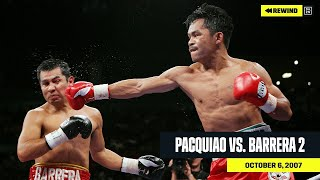 FULL FIGHT | Manny Pacquiao vs. Marco Antonio Barrera 2 (DAZN REWIND)