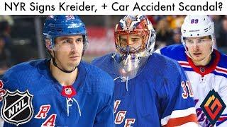 Rangers Sign Chris Kreider, Shesterkin & Buchnevich Involved In Car Accident? (NYR News & Rumors)