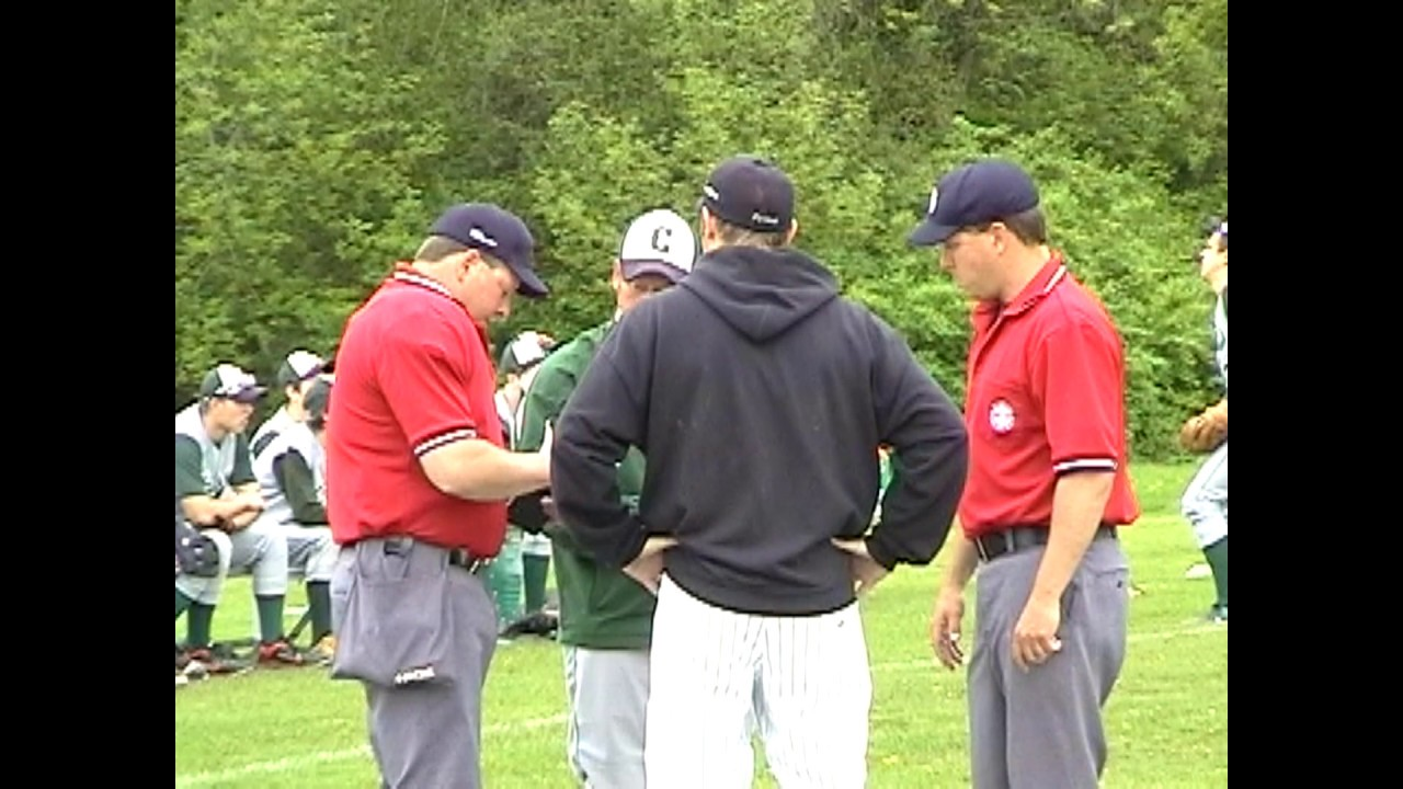 Chazy - Crown Point Baseball  5-18-11
