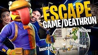 La Map Escape Game/Deathrun la plus marrante avec la Team Crouton sur Fortnite Créatif !