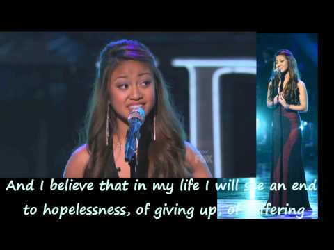 Adriana Latonio Stand Up For Love Video with Lyrics