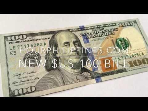 New U.S. $100 Dollar Bill by HourPhilippines.com