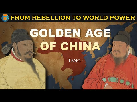 How did Tang Dynasty of China dominate East and Central Asia?