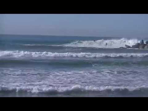 Oceanside Harbor Solid Surf West-Northwest Swell November 2014